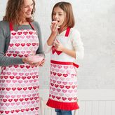 Sur La Table Valentine Hearts Child's Apron