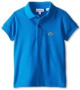 Lacoste Kids Short Sleeve Classic Pique Polo Shirt (Toddler/Little Kids/Big Kids)