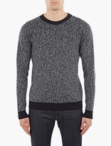 S.n.s. Herning Grey Knitted Wool Sweater