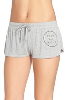 Junk Food Clothing Play All Night, Sleep All Day Lounge Shorts