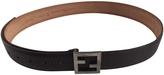 Fendi Brown Leather Belt