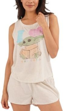 Munki Munki Star Wars Baby Yoda 2pc Pajama Set