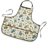 SugarBooger by o.r.e Kiddie Apron in Retro Robot