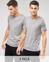 Levis Levi's Crew Neck Regular Fit T-shirt In 2 Pack