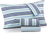 Whim by Martha Stewart Collection Novelty Print 4-pc Queen Sheet Set, 200 Thread Count 100% Cotton Percale