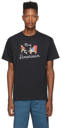 Noah NYC Black Buy America T-Shirt