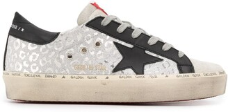 Golden Goose Hi Star leopard sneakers