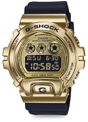 G-Shock Digital Metal Cover Resin-Strap Watch
