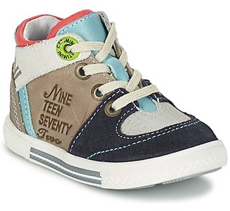 Catimini PIMENT boys's Shoes (High-top Trainers) in Grey