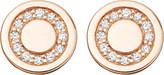 Astley Clarke Mini Cosmos 14ct yellow-gold and diamond stud earrings