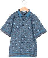 Dolce & Gabbana Boys' Paisley Print Button-Up Shirt w/ Tags
