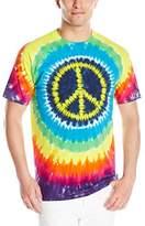 Liquid Blue Men's Hippie Peace T-Shirt