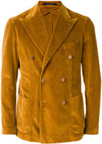 Tagliatore velvet double-breasted blazer