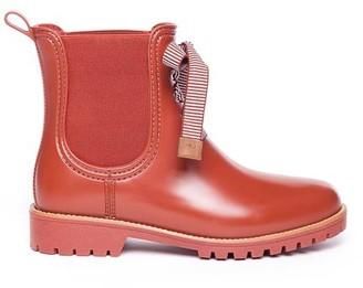 Bernardo Zina Rain Boot in Burnt Red