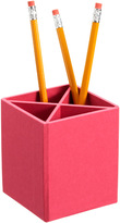 Container Store BigsoTM Stockholm Divided Pencil Cup Pink