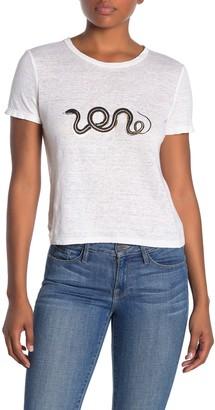 A.L.C. Serpentine Short Sleeve T-Shirt