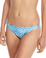 Letarte Printed Hipster Swim Bottom