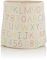 PetitPehr Alphabet-Print Medium Bin