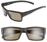 Smith Men's Outlier 56Mm Chromapop Polarized Sunglasses - Matte Black/ Gray Green