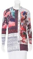 Prabal Gurung Printed Jersey Knit Top