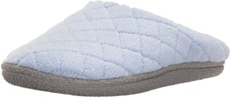 Dearfoams Womens Leslie Quilted Microfiber Terry Clog