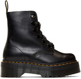 Thumbnail for your product : Dr. Martens Black Ribbon Molly Boots