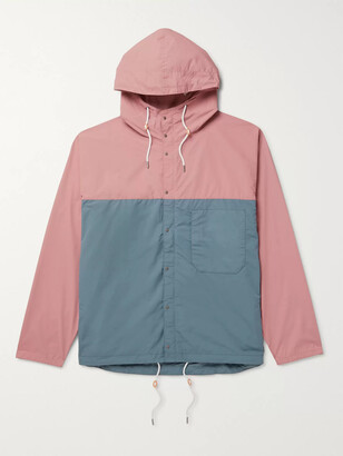 Nanamica Two-Tone Shell Hooded Jacket