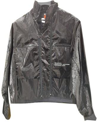 Oamc Black Leather Jacket for Women