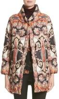 Etro Women's Suzani Paisley Print Puffer Jacket