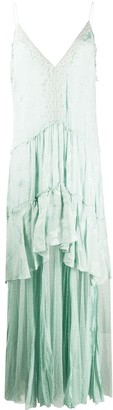 Jonathan Simkhai Embroidered Layered Cami Dress