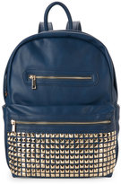 Urban Expressions Navy Studded Pocket Backpack