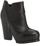 Max Studio Omaha - Leather Hidden Platform Booties