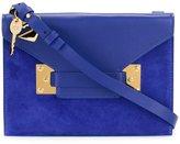 Sophie Hulme small envelope crossbody bag