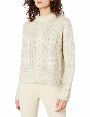J.o.a. Women's Classic Cable Knit Sweater