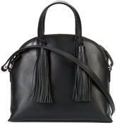Loeffler Randall tassels satchel - women - Leather - One Size