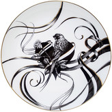 Rory Dobner - Gold Perfect Plates - Swirly Heart - Large