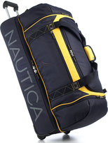 "Nautica Sea Level 32"" Rolling Drop Bottom Duffel"
