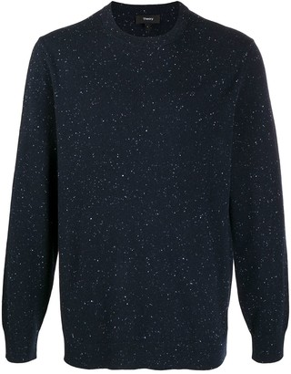 Theory Speckle-Knit Cashmere Jumper