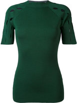 Nomia ribbed knit T-shirt - women - Nylon/Viscose - M