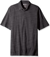 Haggar Men's Big and Tall Short Sleeve Polyester Knit Polo