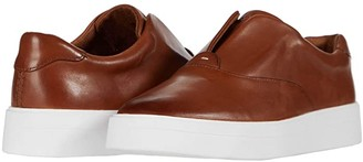 Clarks Hero Step (Tan Leather) Women's Shoes