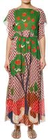 RED Valentino Multicolour Embroidered Tree Long Dress