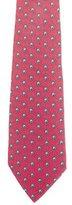 Hermes Rope Ball Print Silk Tie
