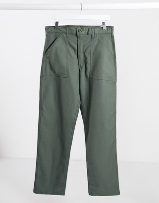 Stan Ray OG loose fatigue pant in olive