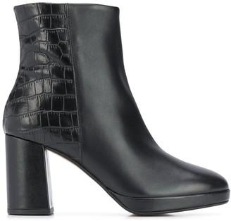 Carvela Tiptoe two-tone heeled boots