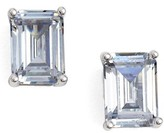 Nordstrom Women's Emerald Cut 2Ct Tw Cubic Zirconia Stud Earrings