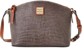 Dooney & Bourke Lizard Embossed Leather Suki Crossbody