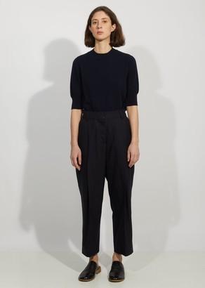 Margaret Howell Wool Deep Pleat Trousers