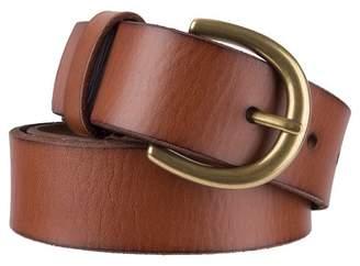 Ava & Viv Women's Plus Size Casual Leather Jean Belt - Ava & VivTM