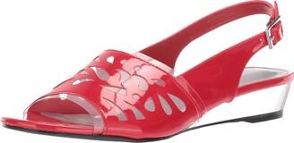 Easy Street Shoes Women's Celebrate Slingback Sandal Wedge
